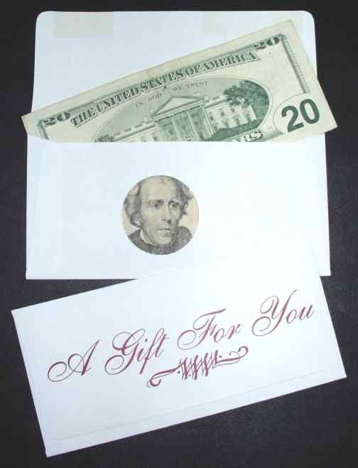 Greatest Money Gift Envelopes TX35